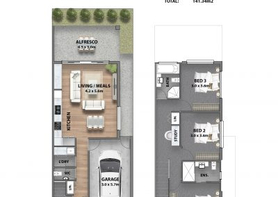 H3 - Marketing Floor plan